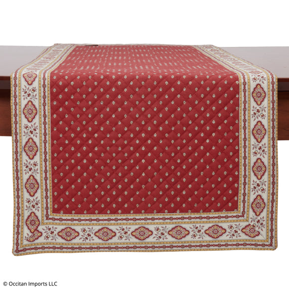 Esterel Terre Cuite French Table Runner