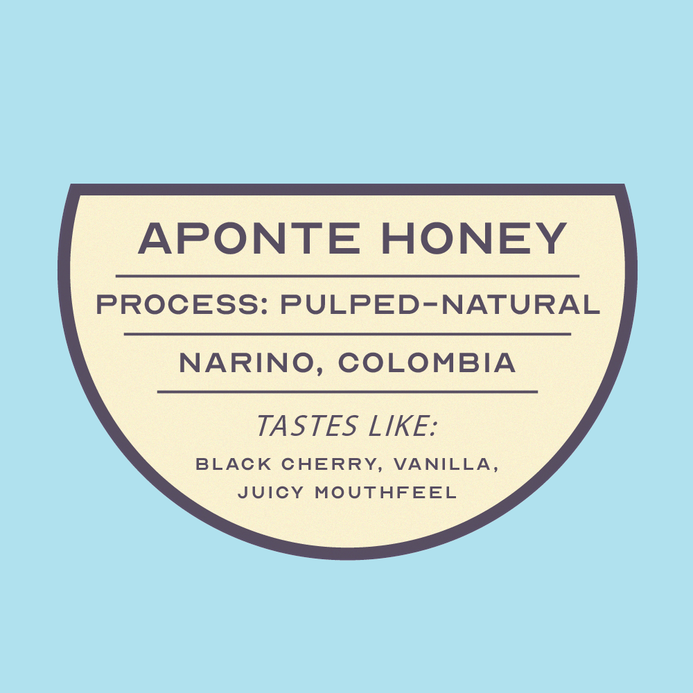 Aponte Honey - Nariño, Colombia