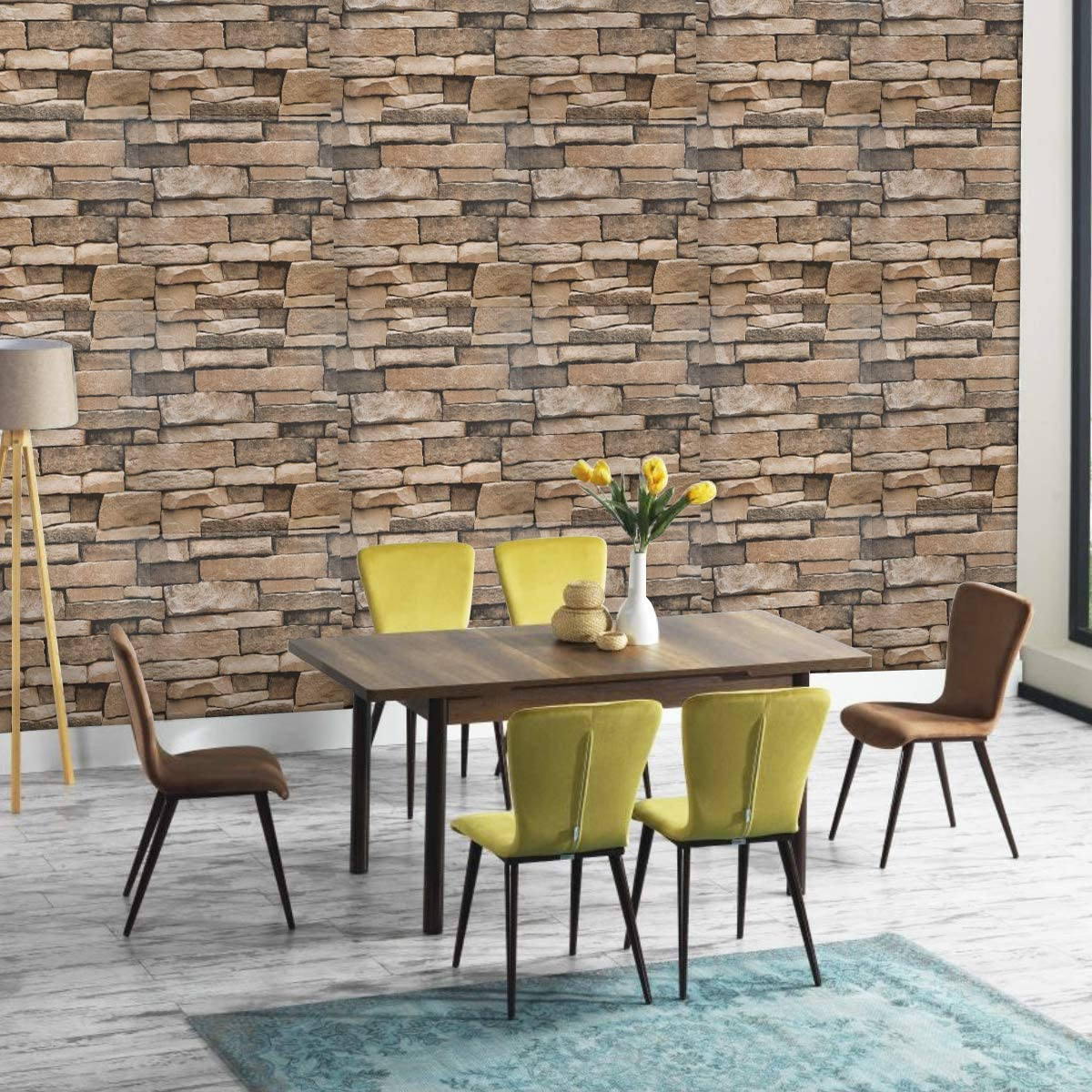 Stonely - The Adhesive Foam Stone Wallpaper