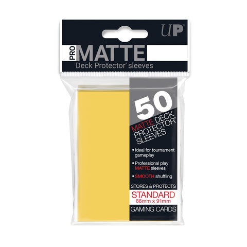 Ultra Pro PRO-Matte Standard Card Sleeves (50 Count)