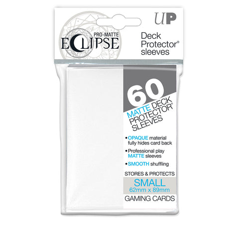 Ultra Pro Eclipse PRO-Matte Small Size Card Sleeves / Deck Protectors (60 Count)