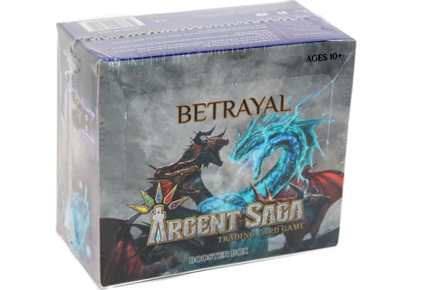 Argent Saga Trading Card Game: Betrayal Booster Box (2.0)