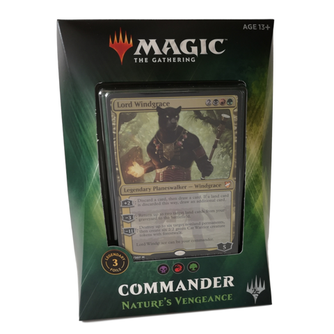 Magic: The Gathering Commander 2018: Nature's Vengeance
