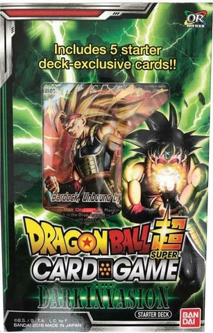 Dragon Ball Super Card Game Starter Deck: The Dark Invasion