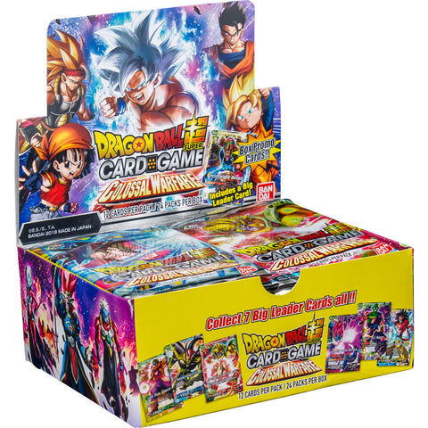 Dragon Ball Super Card Game: Colossal Warfare Booster Box