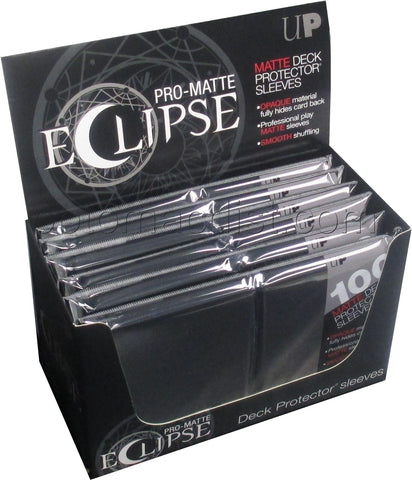 Ultra Pro Eclipse PRO-Matte Card Sleeves / Deck Protectors (100 Count)