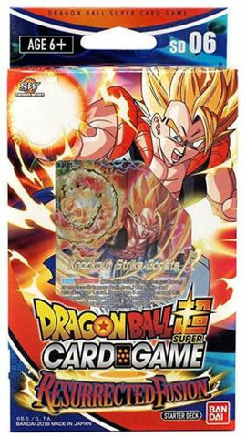 Dragon Ball Super Card Game Starter Deck: Resurrected Fusion