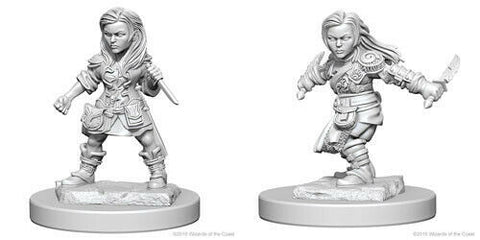 D&D Nolzurs Marvelous Miniatures: Halfling Rogue (Female)
