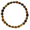 Adult Amber Bracelet Bean - Green