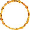 Adult Amber Bracelet Bean - Honey