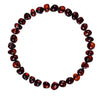Adult Amber Bracelet Bud - Dark Cherry