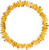 Adult Amber Bracelet Nugget - Lemon