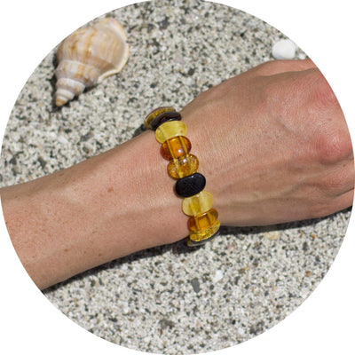 Adult Amber Bracelet Square - Mixed