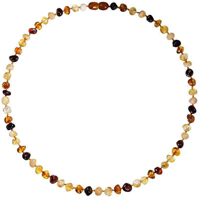 Adult Amber Necklace Bud - Lemon