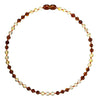 Adult Amber Necklace Premium - Lemon Cognac