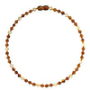 Adult Amber Necklace Premium - Lemon Drop