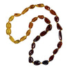 Baby Amber Necklace Bean - Rainbow