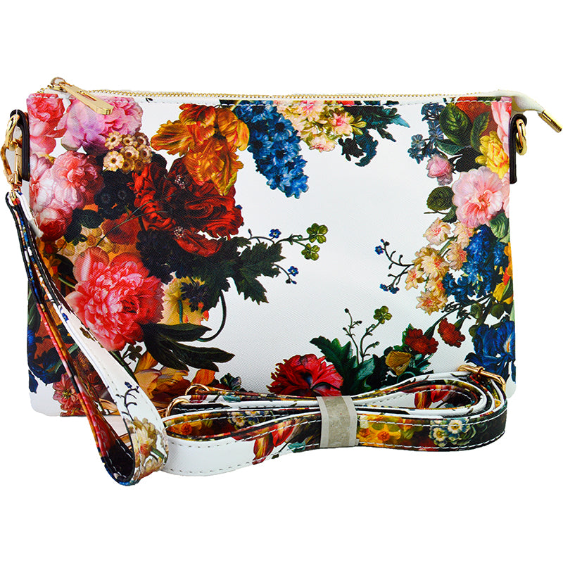 Witchy Poo's Vintage Floral Clutch
