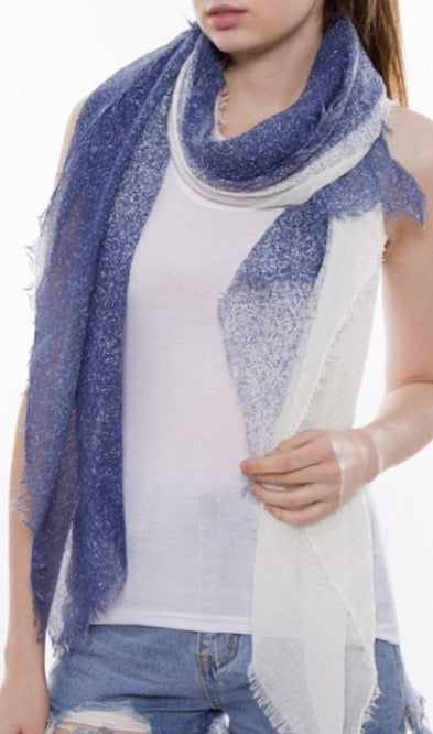 Witchy Poo's Navy Color Speckled Scarf