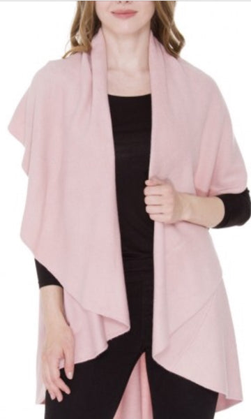 Witchy Poo's Pink Shawl Vest