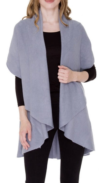 Witchy Poo's Gray Shawl Vest