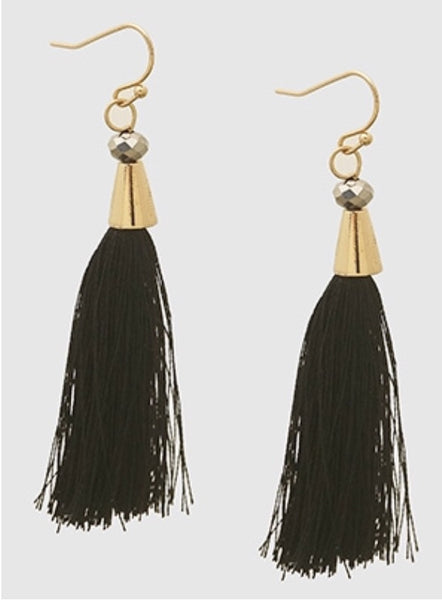 Witchy Poo's  Southern Tassel Earring