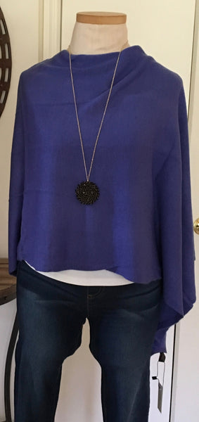 Witchy Poo Classic Purple Poncho