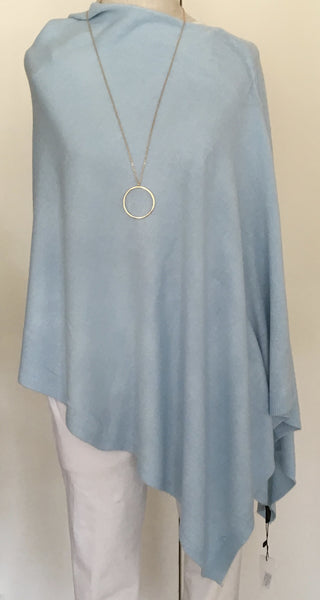 Witchy Poo's Classic Periwinkle Poncho