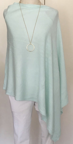 Witchy Poo's Classic Light Mint Poncho