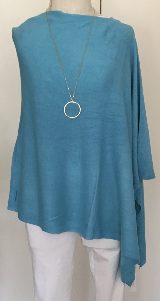 Witchy Poo's Classic Turquoise Poncho