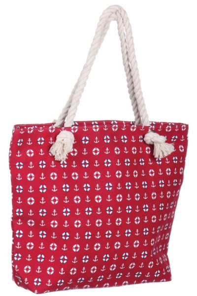Witchy Poo's Red Nautical Bag