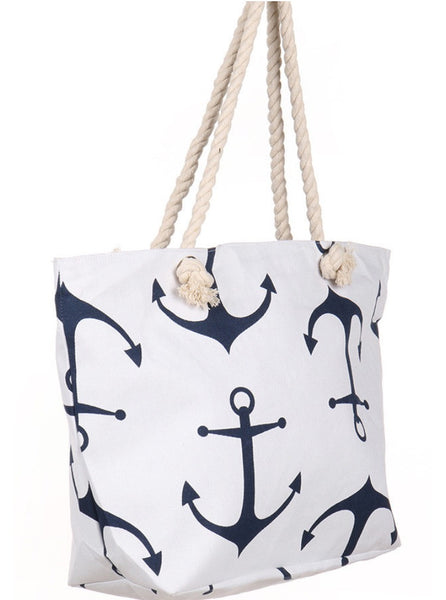 Witchy Poo's White Anchor Bag