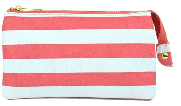 Witchy Poo's Nautical Stripe Convertible Wallet