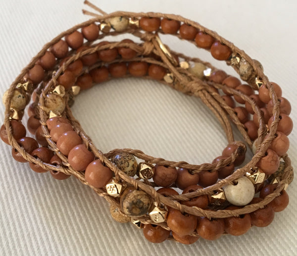 Copy of Witchy Poo's Brown Wrap Bracelet