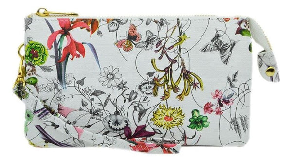 Witchy Poo's Floral Convertible Cross Body Wristlet