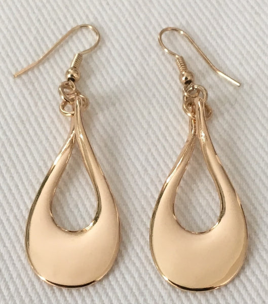 Witchy Poo's Silver Tear Drop Earrings