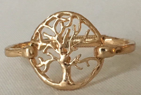 Witchy Poo's Gold Tree of Life Bracelet