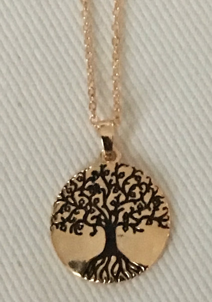 Witchy Poo's Gold Tree of Life Necklace