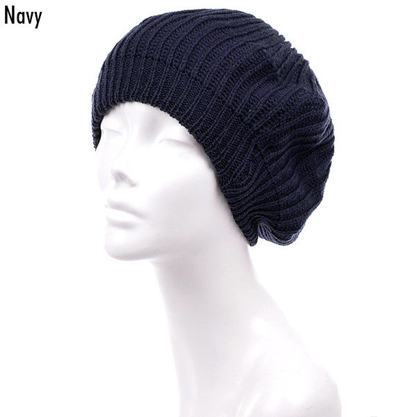 Witchy Poo's Navy Shaker Beret