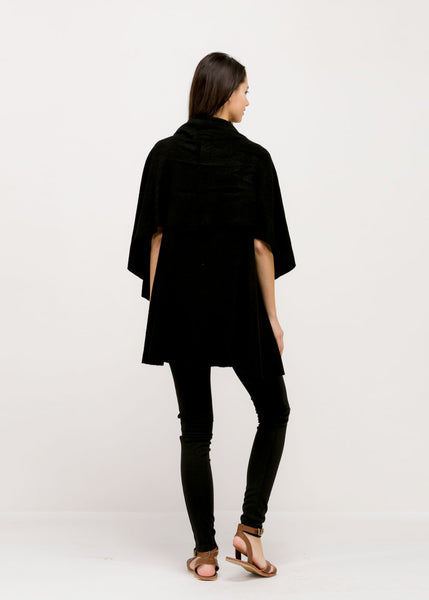Witchy Poo's Black Shawl Vest