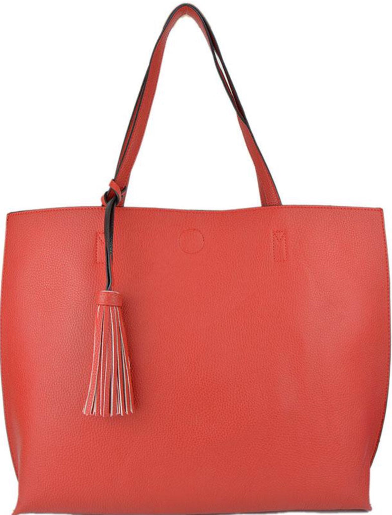 Witchy Poo's Red Tassel Tote
