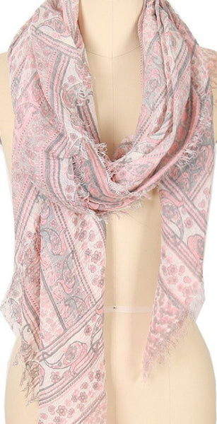 Witchy Poo's Pink Caitlin Scarf