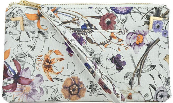 Witchy Poo's Floral Envelope Clutch