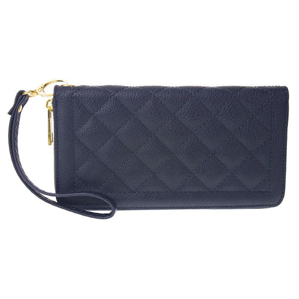 Witchy Poo's Quilted Zip Around Wallet / Wristlet