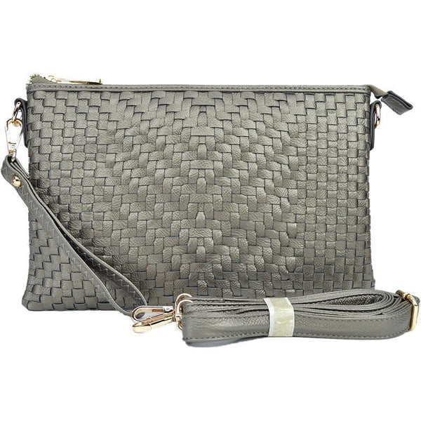 Witchy Poo Basket Weave Clutch