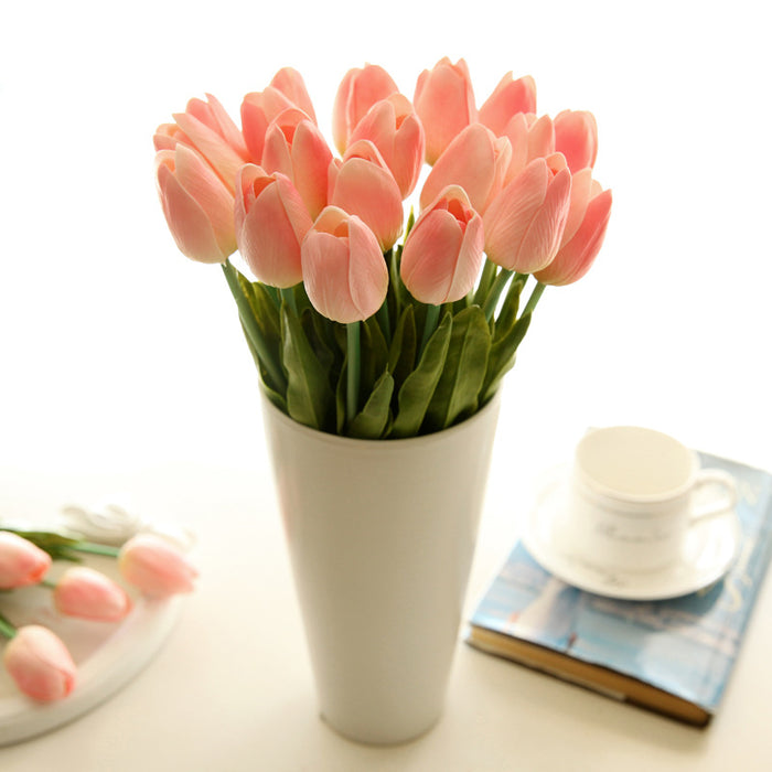 Comyfee Mini tulip manufacturers artificial flowers