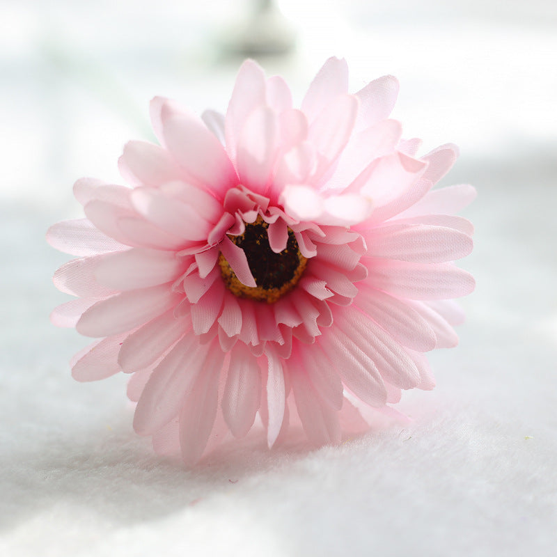 Comfyee Pink Weddings Bouquets Cheap Sunflowers Artificial Silk Flower