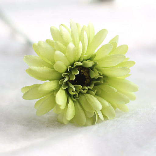 Comfyee Green Weddings Bouquets Cheap Sunflowers Artificial Silk Flower