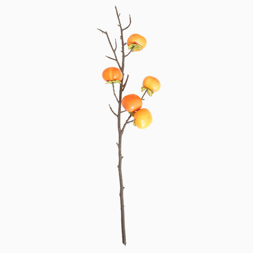 Comfyee Fake Faux Artificial Fruit Persimmon