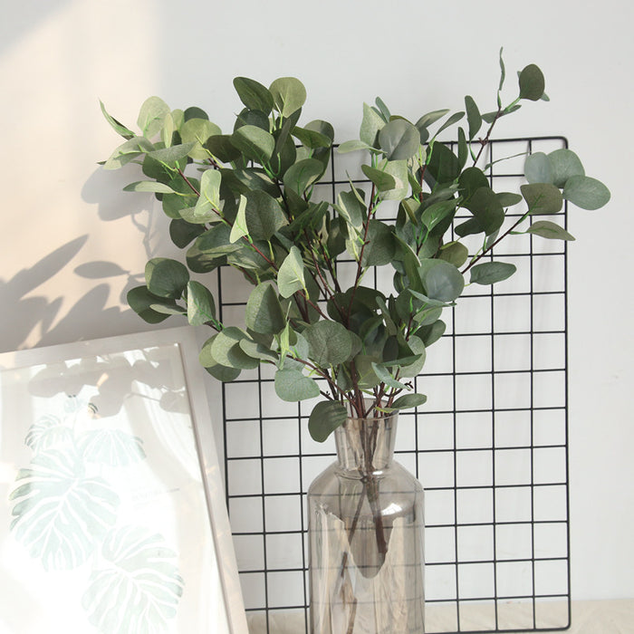 Comfyee Fake Artificial Greenery Eucalyptus Leaves Vine